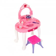 Oypla Childrens Kids Girls Play Toy Dressing Table Glamour Mirror