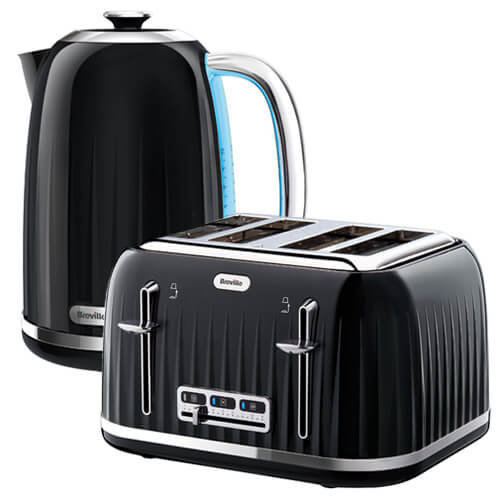 Breville Impressions Kettle & Toaster Set Black