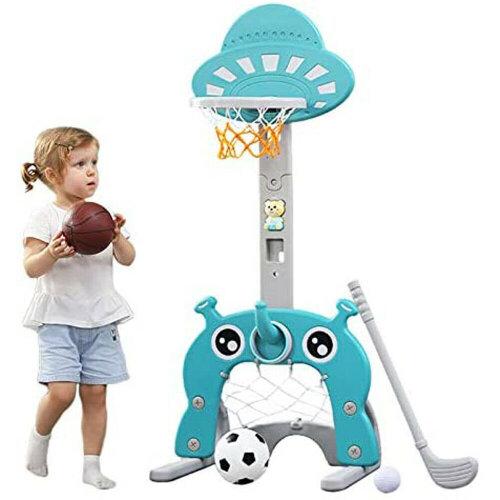 Basketball Hoop 5 in 1 Kids Sports Activity Center