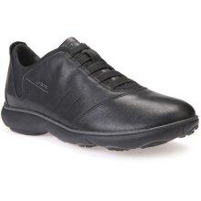 Geox Mens Nebula Leather Trainers