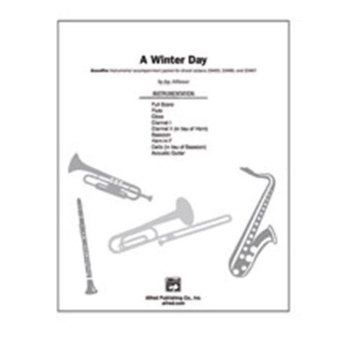 Alfred 00-23469 WINTER DAY, A-SPX SET4D