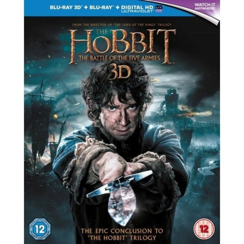 The Hobbit - The Battle Of The Five Armies 3D+2D Blu-Ray [2015]