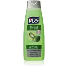 Alberto VO5 Herbal Escapes Kiwi Lime Squeeze Clarifying Shampoo for Unisex, 12.5 Ounce