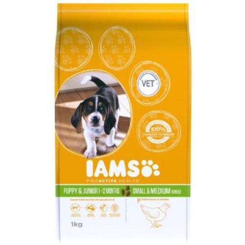 (12 kg) Iams ProActive Health Puppy/Junior Small/Medium Breed