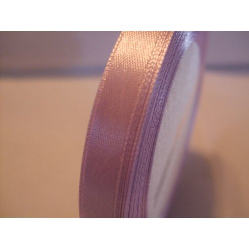 Satin Ribbon Roll - 10mm Wide - 25 Yards (22 Metres) - Lavender