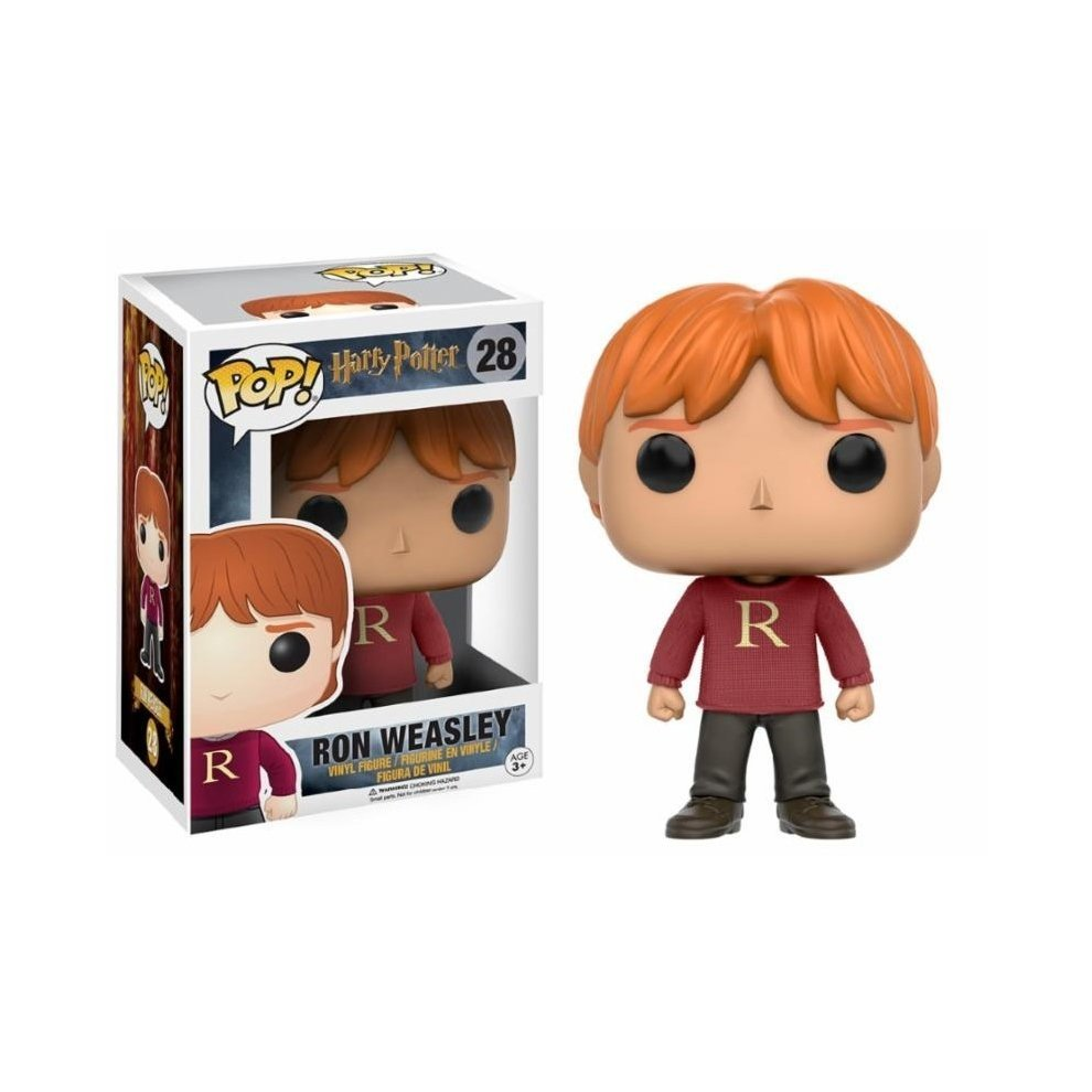 FUNKO POP Harry Potter 28 Ron Weasley Action Figure Nuovo Da Collezione Limited