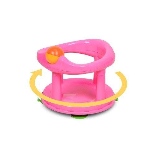 Safety 1st Swivel Bath Seat - Pink | Baby Swivel Bath Seat