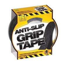 Anti Slip Tape For Indoor & Outdoor 25mm x 4m Grip Adhesive Abrasive Tape