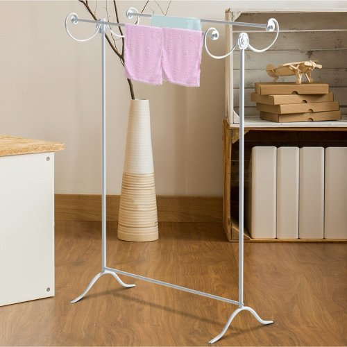 Homcom 2 Bar Metal Clothing Rack