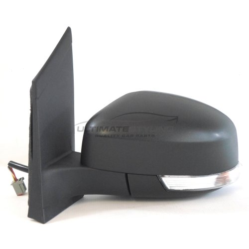 Ford Focus Saloon 3/2008-6/2011 Electric Wing Mirror Black Passenger Side N/S