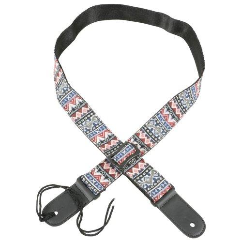 Chord Patterned Nylon Ukulele Strap | Adjustable Ukulele Strap
