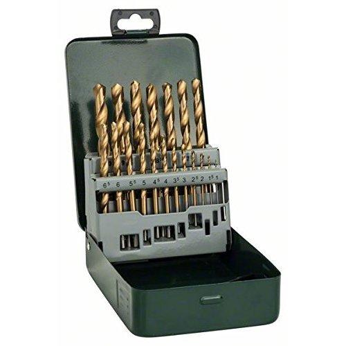 Bosch 19 Piece Metal HSS Titanium Drill Bit Set