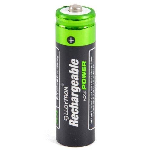 Lloytron AA 800mAh NIMH AccuPower Battery Pack of 4 (Model No. B011)
