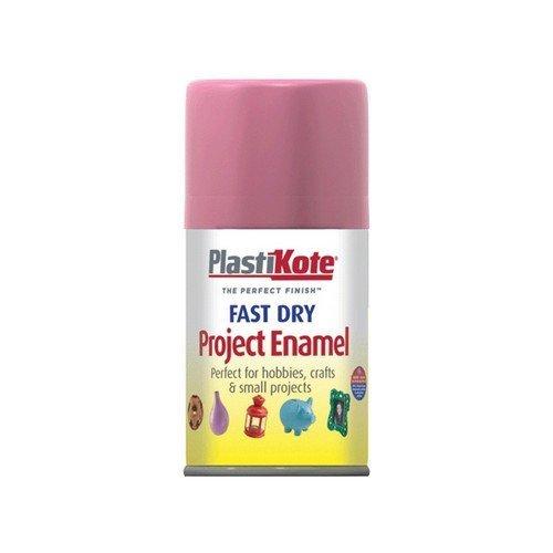 Plasti-Kote PKT115S Fast Dry Enamel Aerosol Hot Pink 100ml