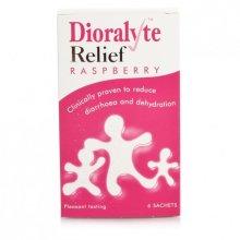 Dioralyte Relief Raspberry - 6 Sachets