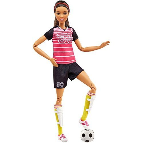 Barbie Careers Made to Move Soccer Player Doll