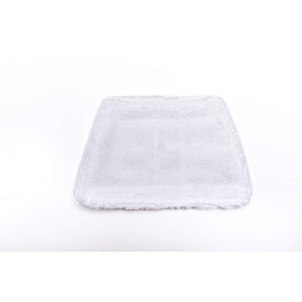 Pack of 2 Spares2go Hard Floor Cleaning Cloth Pads for Morphy Richards 720020 720021 720502 9 in 1 Steam Cleaner Mop