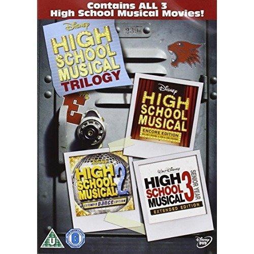 High School Musical 1-3 DVD [2009]