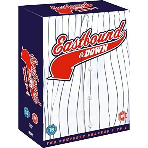 Eastbound and Down Seasons 1 to 4 Complete Collection DVD [2014]