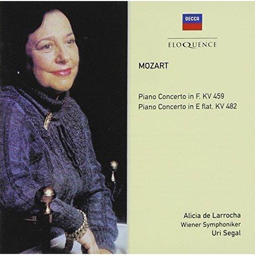 De Larrocha Alicia - Mozart: Piano Concertos [CD]