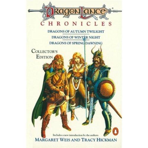 Dragonlance Chronicles: Dragons of Autumn Twilight, Dragons of Winter Night, Dragons of Spring Dawning (TSR Fantasy) (Paperback)
