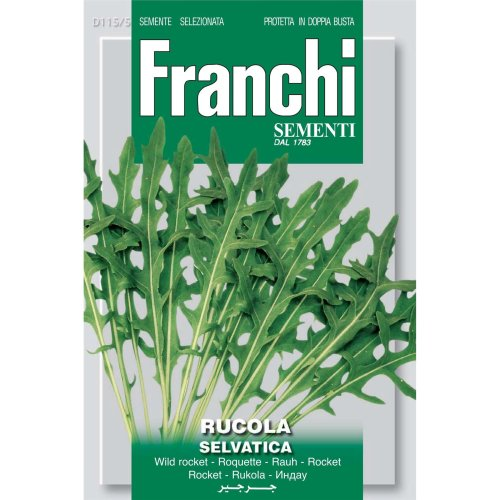 Franchi Seeds of Italy - DBO 115/5 - Wild Rocket - Selvatica - Seeds