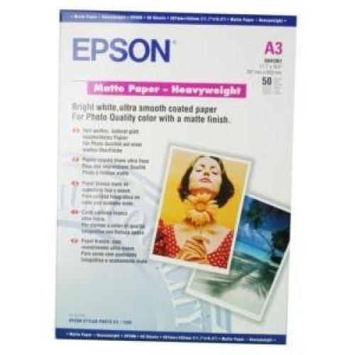Epson Matte Paper Heavy Weight, DIN A3, 167g/m2, 50 Sheets inkjet paper