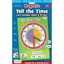 Fiesta Crafts Tell The Time Magnetic Activity Chart