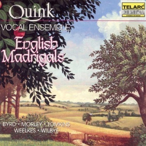 Quink Vocal Ensemble - English Madrigals [CD]