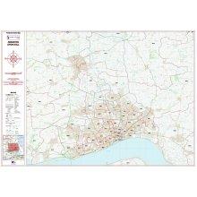 Postcode City Sector Map  - Kingston-Upon-Hull