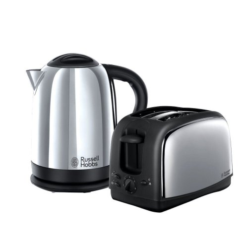 Russell Hobbs 21830 Stainless Steel Lincoln Kettle & 2 Slice Toaster
