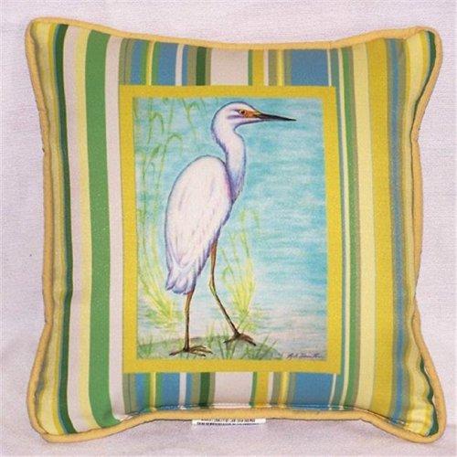 Betsy Drake SN605C Sand Dollar Teal Pillow,12 X12