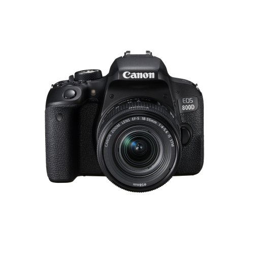 Canon EOS 800D Digital SLR Camera With EF-S 18-55mm f/4.5.6 IS STM Lens