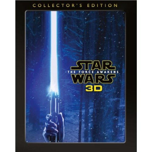 Star Wars - The Force Awakens - Collectors Edition 3D Blu-Ray [2016]