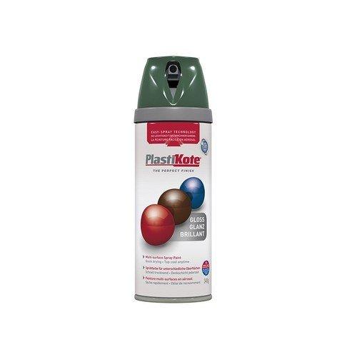 Plasti-Kote PKT21115 Twist & Spray Gloss Luscious Green 400ml