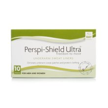 Perspi-Guard Shield Ultra Underarm Sweat Liners Pack of 10 shields