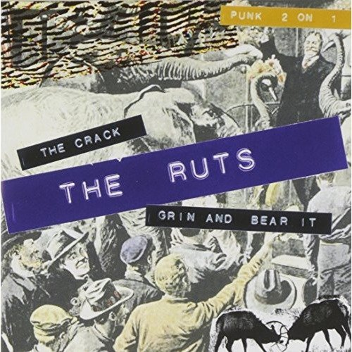 The Ruts - the Crack/grin and Bear It [CD]
