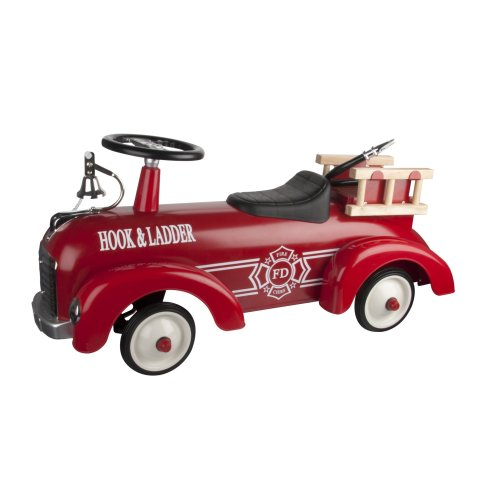 Fire Engine Speedster - Ride On