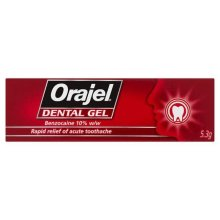 Orajel Dental Gel for Rapid Relief of Toothache 5.3g