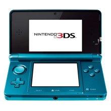 Nintendo 3DS - Aqua Blue Handheld System - Used