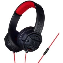JVC Xtreme Xplosives In Ear Headphones with Remote Mic - Red/Black (HASR50XB) - Refurbished