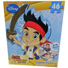 Jake and The Neverland Pirates 46 Piece Floor Puzzle