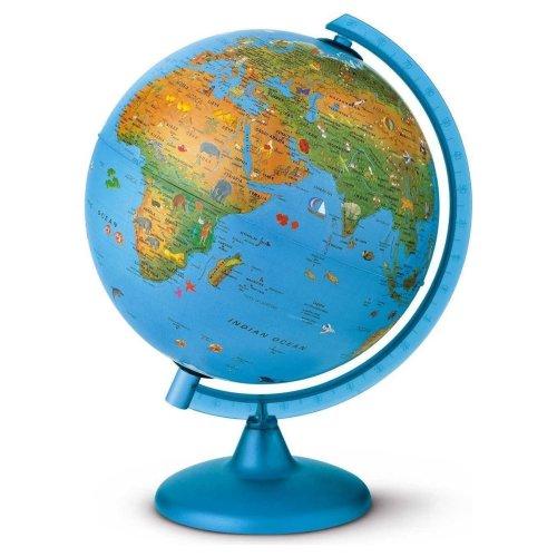 Nova Rico Educational 25cm Arca Illuminated Children's World Globe