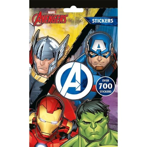 Marvel Classic Avengers 700 Stickers - Iron Man Captain America Hulk Thor & More