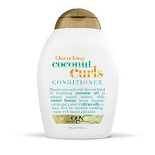 OGX Quenching + Coconut Curls Conditioner, 13 Ounce (Pack of 6)