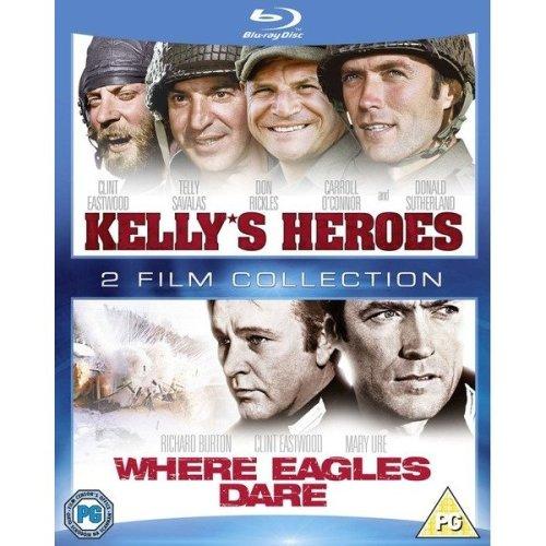 Kellys Heroes / Where Eagles Dare Blu-Ray [2012]