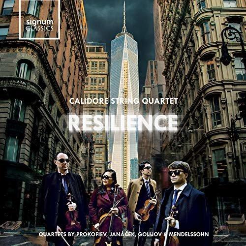 Calidore Quartet - Calidore String Quartet: Resilience [CD]