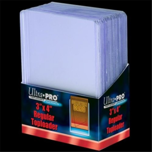 Ultra Pro 7442781222 3 x 4 in. Top Loader, Light Clear