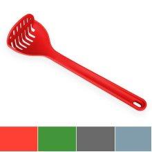 Venn Kitchen Silicone Masher; 12-Inch, Red