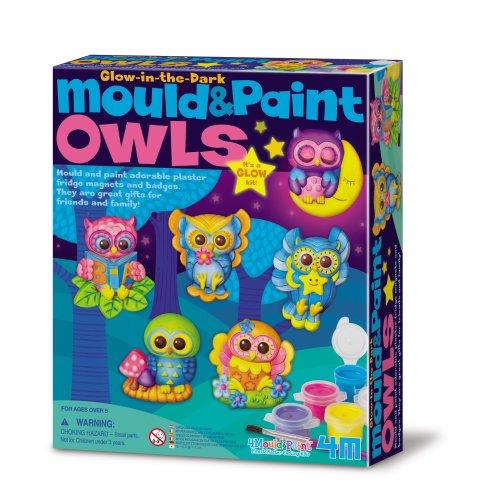 Glow Owls Mould & Paint Kit